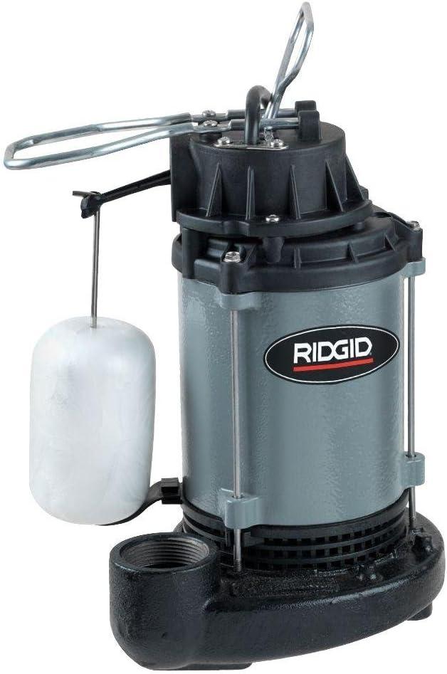 Ridgid 1 2 HP Cast Low price Iron Washington Mall Sump Pump Submersible
