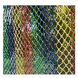 NMDD Red de protección Red de protección Infantil Red de Seguridad de Escalera Balcón Red anticaída Red Tejida a Mano Decoración de Red Red de Gato Gato Cerca de Red Columpio Columpio Hamaca Mult