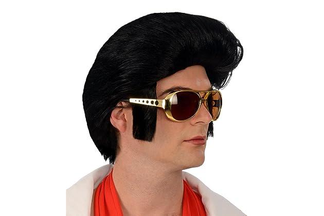 Kangaroo Costume Wigs  1960s Rock  n Roll Black Wig  d96ccc42ba1c