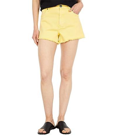 KUT from the Kloth Jane High-Rise Shorts w/ Fray Hem