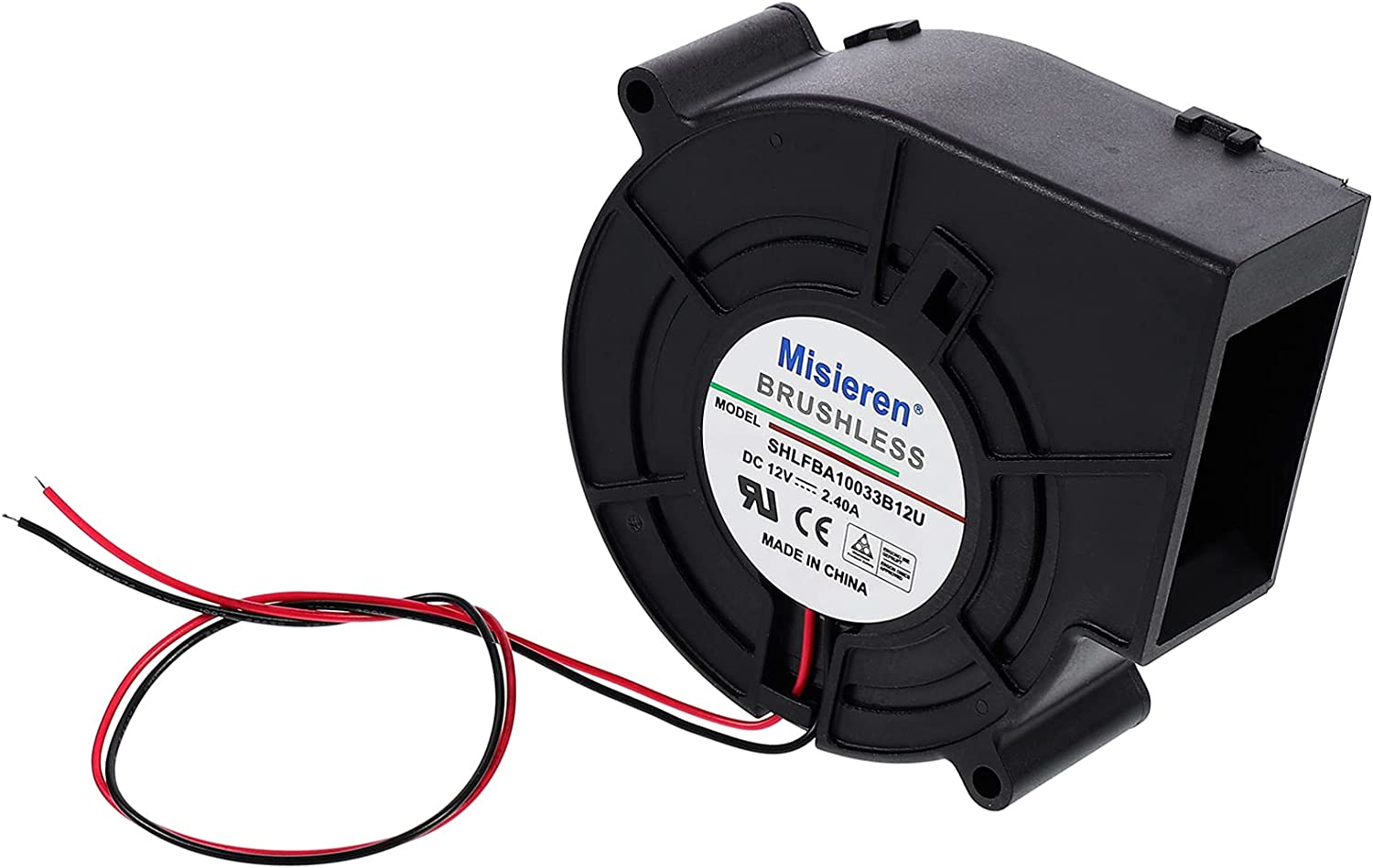 SOLUSTRE 2. 4A Furnace DC Cooling Max 49% OFF High Rotation Cool Air 12V SEAL limited product Fan