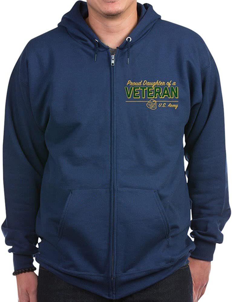 CafePress U.S. Army Proud Daughter Ve Zip Hoodie Of A Outlet Year-end gift SALE