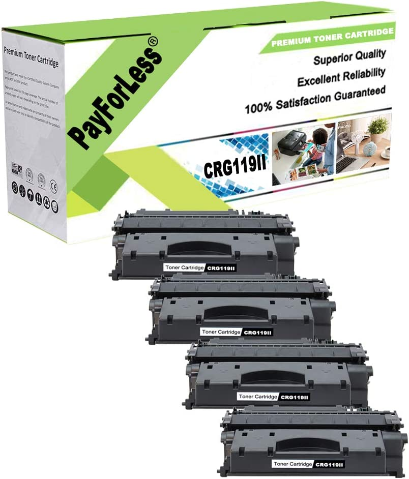 PayForLess 119 Safety and trust II Toner Cartridge for MF414 Japan Maker New Canon ImageClass