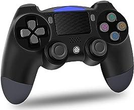 Maegoo Draadloze PS4-controller, Bluetooth Controller PS4 Gamepad joystick voor PS4/Slim/Pro, PS4 game controller met dubb...