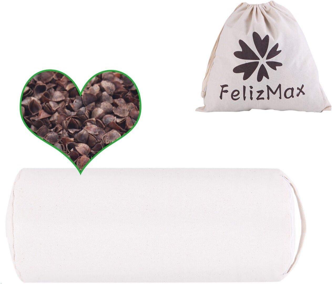Organic Buckwheat Pillow Max 42% OFF for Sleeping 100% Premium buck Natural Elegant