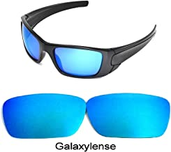 Galaxy Replacement lenses For Oakley Fuel Cell Polarized Blue 100% UVAB