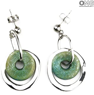 Ninfea Earrings - Antica Murrina Collection - Original Murano Glass OMG