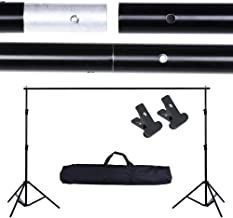 AW 10ft Adjustable Photography Background Support Stand Portable Photo Backdrop Crossbar..