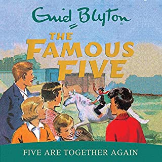 Famous Five: Five Are Together Again cover art