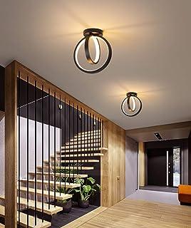 LED Plafonnier Eclairage de Plafond Dimmable Couloir Lampe de Plafond Creative Métal Luminaire Plafonnier Intérieur l'écla...