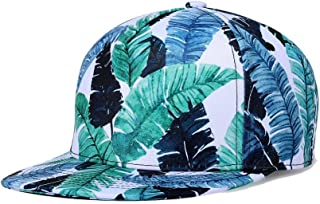 Unisex's Cap Snapback Adjustable Hat Plain Baseball 3D Print Hip Hop Animal