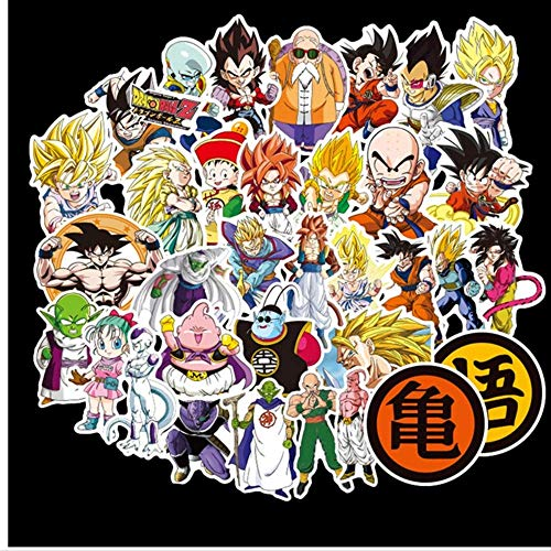 AXHZL Dragon Ball Z Stickers Does Not Repeat The Individuality Sheet Car Motorcycle Draw Bar Box Cartoon Doodle Sticker Toy 100 Pcs