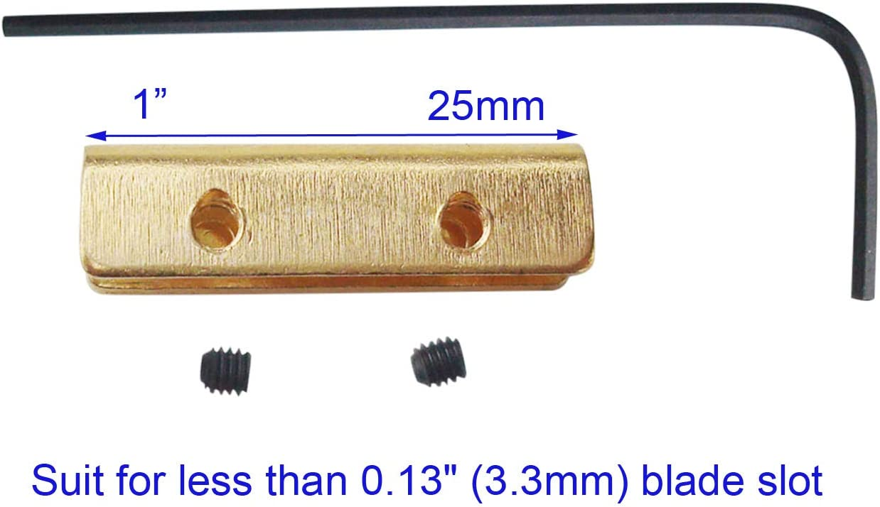 Kwik Thumb Stud For Buck and Other Folding Brass Bicycle screws Access L6C0