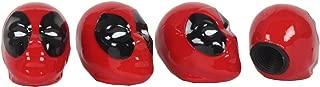 Pilot MVL-0301 Marvel Deadpool Valve Caps