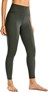 CRZ YOGA Women's Naked Feeling High Waist Tight Yoga Pants Workout Leggings-25 Inches