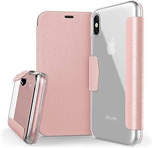 X- Doria Iphone X Case Engage Folio (Pink)