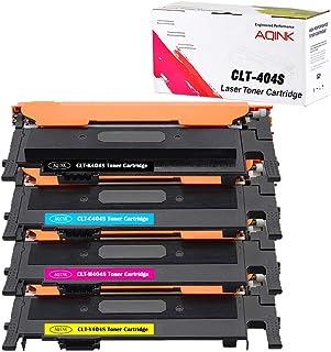 متوافقة مع CLt-404s من AQINK مع خرطوشة حبر سامسونج 404s SL-C430W SL-C480 SL-C480W SL-C480FW SL-C480FN SL-C432W SL-C433W SL...