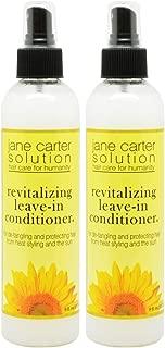 Jane Carter Revitalizing Leave-In Conditioner, 8 oz, 2 pk