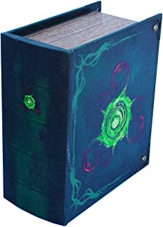 Grimoire Pro Tour, Locus - Wooden Spellbook Style Large Capacity Trading Card Deck Storage (350+ Cards) for MTG Magic The ...