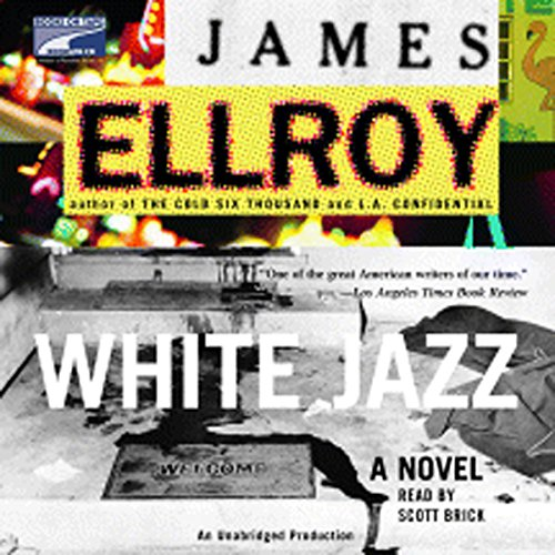White Jazz audiobook cover art