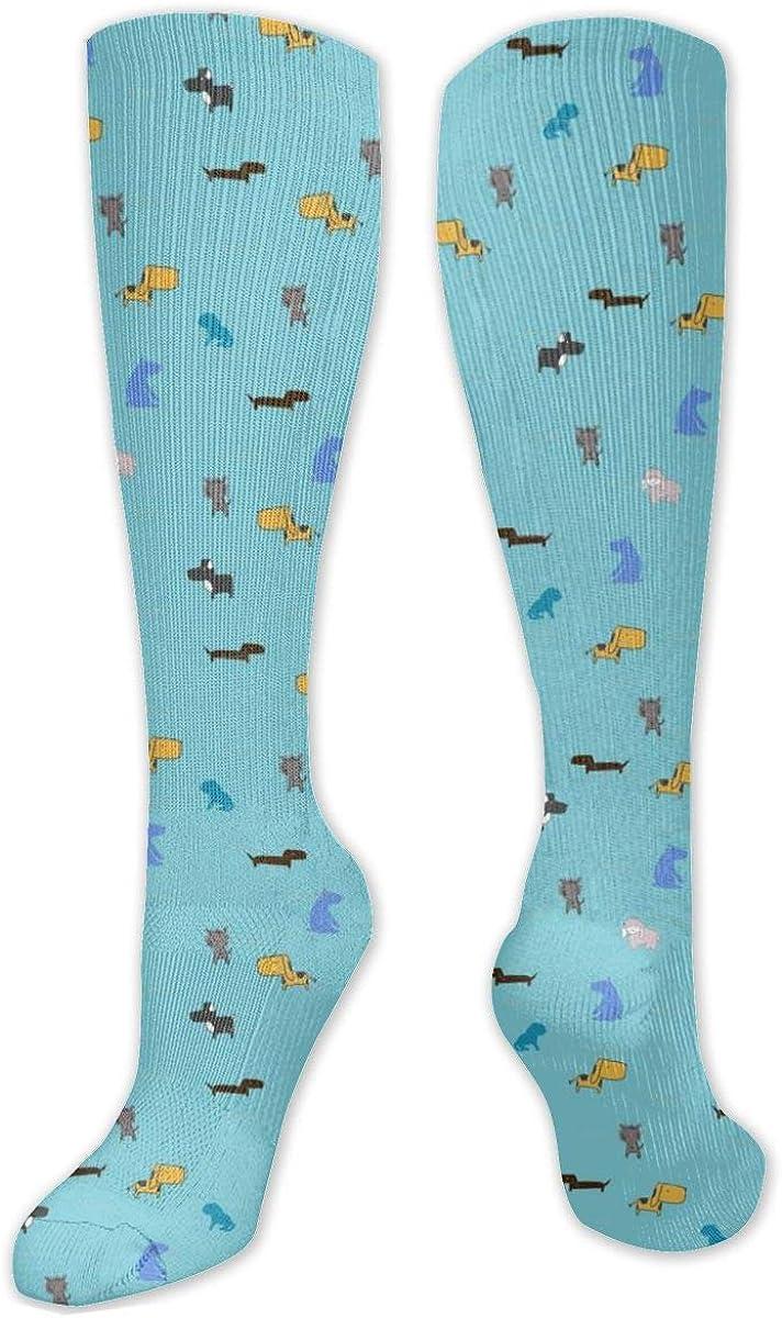 Dogsworldblue Highres Knee High Socks Leg Warmer Dresses Long Boot Stockings For Womens Cosplay Daily Wear