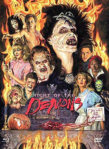 Night of the Demons - Limitiertes Medíabook auf 444 Stück (+ DVD) - Cover D [Blu-ray]