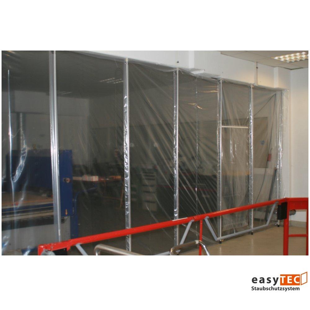 Polvo de juego de pared 8000 easyTEC, 8,00 M x 2,70 M, hoja de pared incluido barras telescópicas, protector de la pared: Amazon.es: Bricolaje y herramientas