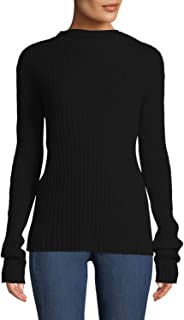 Women's Long Sleeve Lightweight Thermal Basic Fitted Sweater Crewneck Knit Pullover Top