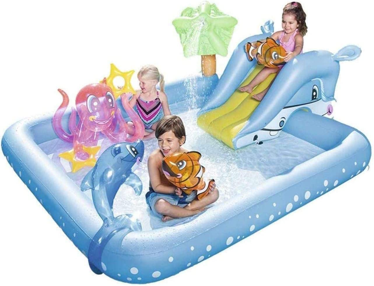 Max 79% OFF Kiddie Pools Inflatable Swimming w Play Center Beauty products