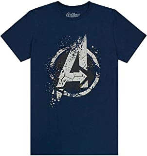 Avengers End Game Eroded A Logo Mens T-Shirt