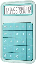 $45 » Yusuo 12-Digit Desktop Calculator, 1 Large Display Battery LCD Display Office Calculator (Color : Turquoise)