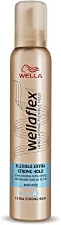 Wella Wellaflex Flexible Extra Strong Hold Mousse - 200 ml