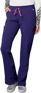 Smitten Women's Hottie Sleek Fit Scrub Pant XXX-Large African Violet