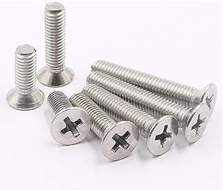 Vite nylon a testa cilindrica fessurata DIN84 diam 20 pezzi M4 VCY440-M lunghezza = 40 mm plastica poliammide PA6.6 isolante ajile