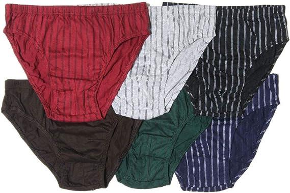 Knocker Lot 6 or 12 Adult Plain Briefs Cotton Underwear Men/'s Bikini Panty