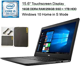 "Newest Dell Inspiron 15.6"" HD Touchscreen Premium Laptop, 8th Gen Intel Core i5-8265U Up to..."