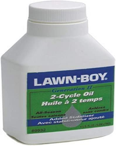 Lawn Boy 89932 4-Ounce 2-Cycle Ashless Engine Oil