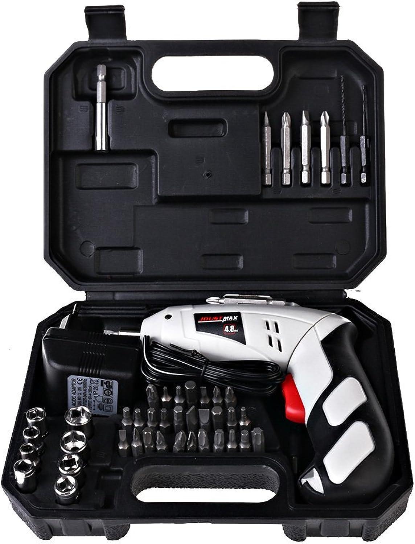 Aigumi 45 in 1 wiederaufladbare elektrische Bohrer und Projekt-Kit 4,8 V Elektrische Schraubendreher Repair Hand Tool Kits Sets B01H1WBS96   Verwendet in der Haltbarkeit