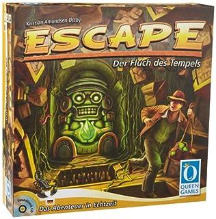 Queen Games 6090 - Escape - Der Fluch des Tempels - kooperatives Gesellschaftsspiel (B00720GJS8) | Amazon price tracker / tracking, Amazon price history charts, Amazon price watches, Amazon price drop alerts