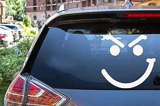 ytedad Car Decal Stickers Car Decal Car Sticker Smirk Face Bon Jovi Vinyl Decal Window Sticker Rock N Roll Cover 12.5X12.5Cm