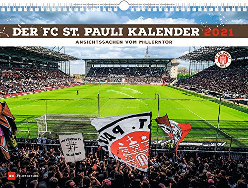 Der FC St. Pauli Kalender 2021