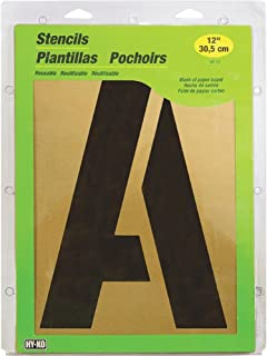 HY-KO Products ST-12 Number & Letter Large Stencils, 12
