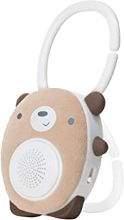 SoundBub by WavHello, White Noise Machine and Bluetooth Speaker | Portable and Rechargeable Baby Sleep Sound Soother – Benji The Bear, Brown