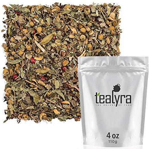 Tranquil Dream - Chamomile & Honeybush - Calming & Relax Tea - Organically Grown- Herbal Loose Leaf Tea - Caffeine Free - Tealyra (110g / 4oz)