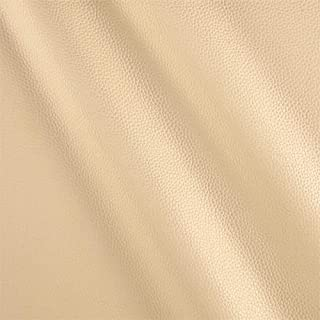 Fabric Beige Cabo Faux Leather Yard