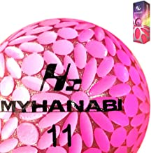MYHANABI H2 マイハナビ ゴルフボール ピンクシルバー 1スリーブ 3球