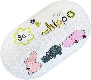BigTree Alfombrilla Antideslizante para bañera y Ducha para bebés, niños pequeños, Resistente al Moho, 69x40 cm, Dibujos A...