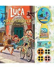 Disney Pixar: Luca Movie Theater Storybook & Projector