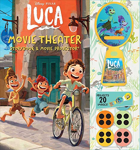 Disney Pixar: Luca Movie Theater Storybook & Projector