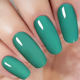 Dipping Powder Light Sea Green (Added Vitamins) I.B.N Dipped Acrylic Dip Powder DIY Manicure Salon Home Use, 1 Ounce (DIP 015)